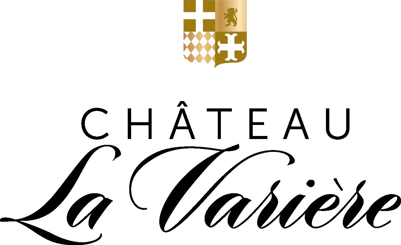 Château La Varière - Logo du domaine - Écriture noire